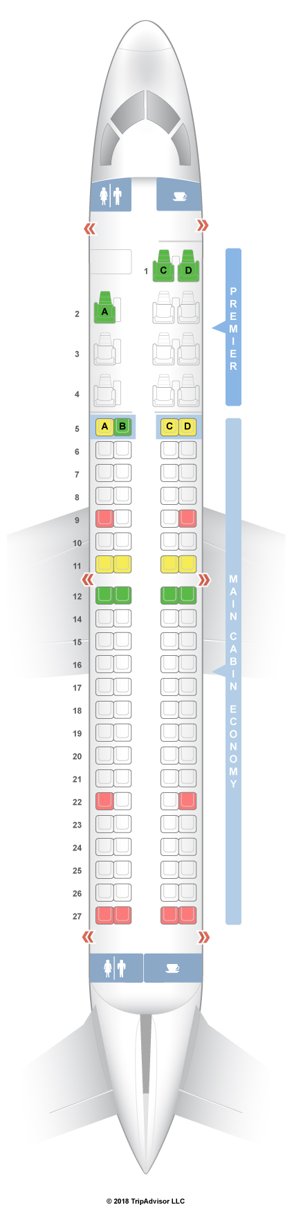 United Airlines 767 300 SeatGuru Seat Map Aero...